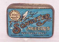 Songster Medium Tone Gramophone Needle tin