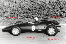 Jo Bonnier BRM français du P48 grand prix de Reims 1960 Photographie 1