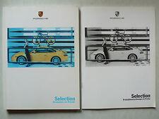 Brochure porsche selection accessoires, 7.1999, 100 pages + 44 p. liste de prix