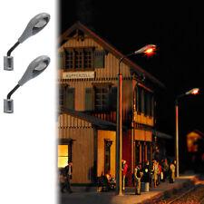 Busch 4133 2  Wandlampen  (LBL) H0