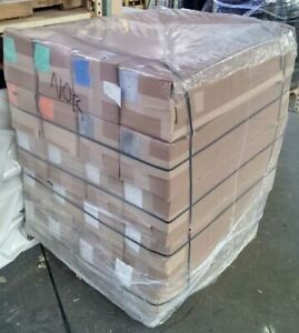 """50"""" x 42"""" x 66"""" Gusseted Shrink Pallet Bags - 4mil White UVI - 42 Rolls - 30bags"""