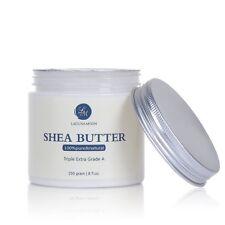 Lagunamoon Shea Butter Organic Raw Unrefined Skin Body Face Moisturiser | 250ml