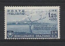 FRANCOBOLLI - 1936 REGNO ORAZIO POSTA ORDINARIA L. 1,25 MNH Z/7526