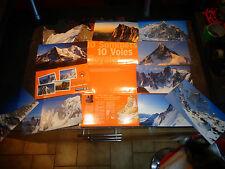 Pochette des 10 meilleurs Voies royales Sommet Alpes Pyrénées Alpinisme Montagne