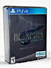 Final Fantasy VII Remake Deluxe Edition (Playstation 4, 2020) NEW PS4 rare