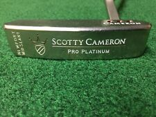 TITLEIST SCOTTY CAMERON PRO PLATINUM NEWPORT MID SLANT RIGHT HAND RH PUTTER