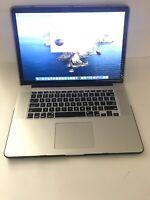 """MacBook Pro Retina 15"""" Mid 2015 I7 2.5GHZ 16gb 256GB SSD Radeon R9 M370X 2gb"""
