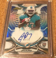 2015 Topps Finest Jay Ajayi Blue Refractor Rookie Variation Auto /25