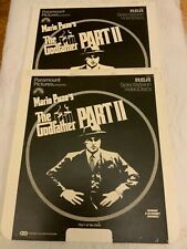 The Godfather Part II Movie 2-Video Disc Set RCA SelectaVision CED Vintage
