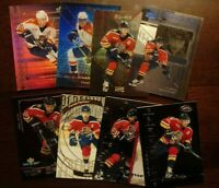 PAVEL BURE LOT OF 14 PREMIUM INSERTS/PARALLELS (various yrs) Fla. Panthers CMBSH