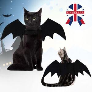 Bat Wing for Small Cat Kitten Puppy Dog Pet Halloween Costume Cosplay Dress-Up K