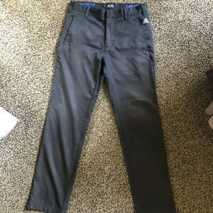 Adidas Golf Black Trousers Waist 30 Leg 32