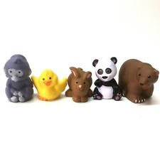Lot5pcs Fisher Price Little People Cute Zoo Farm Animal Pre-School Baby Toy Gift