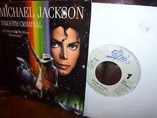 """Michael Jackson Smoth Criminal (Vocal Inst) Movie Moonwalker 1987 Holland 7"""""""