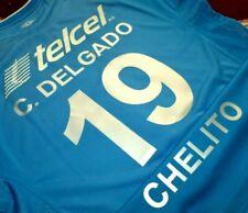 Jersey Cruz Azul Chelito Delgado umbro (XXL) vintage soccer shirt 2005 Argentina