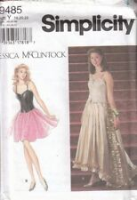 Simplicity Sewing Pattern 9485 Ladies Top Skirt Corset Misses Size 18 20 22