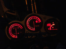 RED ZX6R f1 f2 f3 led dash clock conversion kit lightenUPgrade