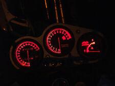RED ZX9R B led dash clock conversion kit lightenUPgrade