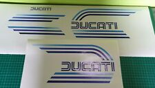 Ducati 900, 1981 Tank and Seat decals set