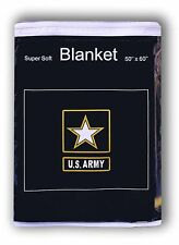 """U.S. Army of One Fleece Blanket *NEW* 50"""" x 60"""" United States Army Throw Cover"""