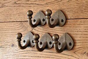Five lovely arts and crafts style single coathook hook hanger MF1