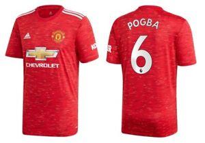 Trikot Adidas Manchester United 2020-2021 Home - Pogba 6 I Heim ManU