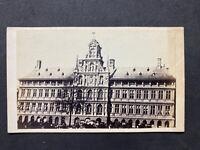Victorian Carte De Visite CDV: Hotel De Ville Paris Before Fire Of 1873 (1867)