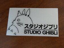 Black Totoro  Sticker Decal Ghibli Laputa Jdm Anime Die cut vinyl