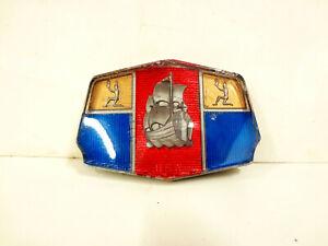 1951 Plymouth Hood Emblem Plastic Medallion Ornament Badge Mayflower Ship