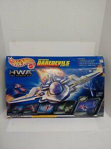 Hot Wheels HWA Motorized Daredevils Stunt Set Hot Wheels Air Mattel 1999