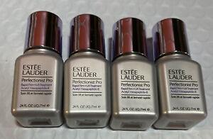 Lot 4 Estée Lauder Perfectionist Pro Rapid Firm+Lift Treatment Serum 0.24oz/7ml