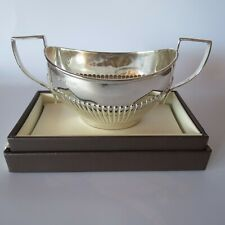 Antique sterling silver sugar bowl HM 1909