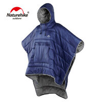 Naturehike Outdoor Wearable Water-resistant Camping Sleeping Bag Winter Poncho