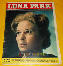 LUNA PARK 1962 n. 47 Silvana Mangano, Jacques Perrin, Giovanna Ralli