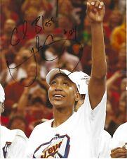 Tamika Catchings Signed 8 x 10 Photo Wnba Basketball Indiana Fever Championship