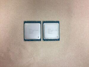 Lot of 2 Intel Xeon E5-2620 V2 2.1 GHz Processor SR1AN