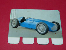 N°21 TALBOT LAGO 1949 PLAQUE METAL COOP 1964 AUTOMOBILE A TRAVERS AGES
