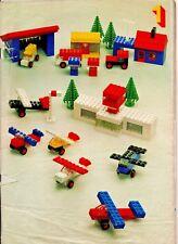 Vintage LEGO ephemera-ideas libro (tristemente no Cubierta) - Circa 1970s