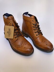 NEW IN STOCK gatesby lace up brouge boot with a commando style sole