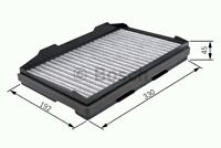1987432208 BOSCH CABIN FILTER  [POLLEN FILTERS] BRAND NEW GENUINE PART
