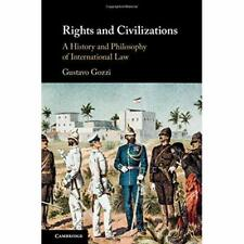 Rights Civilizations Gustavo Gozzi Hardcover Cambridge University… 9781108474238