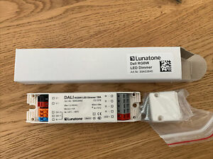 1x Lunatone 4Ch RGBW LED Dimmer Dali DT8 Led- Dimmer Art.-Nr. 89453840