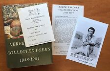 Collected Poems 1948-1984 by Derek Walcott - First Edition - 1986 - Review Copy