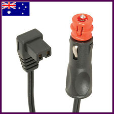 MERIT (HELLA) AND CIGARETTE PLUG TO WAECO FRIDGE ADAPTOR POWER LEAD CABLE 1.8M