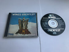 Wings Greatest Parlophone Made In UK CD Black Label CDP 7460562 MINT/EX NO BCODE