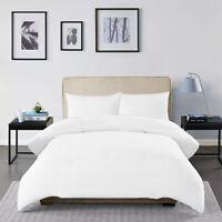 Luxury Egyptian Cotton White Duvet Cover Set Single Double King Size Pillow case