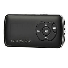 "Black + Silver 1.1""OLED 32GB MP3 Player w/Mini USB/TF/3.5mm/USB cable"