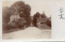 Entrance  to BEAULIEU New Forest - Hampshire RPPC Sent to Siemens 1907 (2.95)
