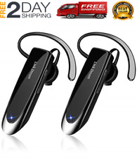 Bluetooth Earpiece for Cell Phone Hands Free Wireless Headset Noise