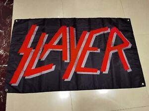 SLAYER FLAG BANNER CLOTH SIGN POSTER 3' X 5'